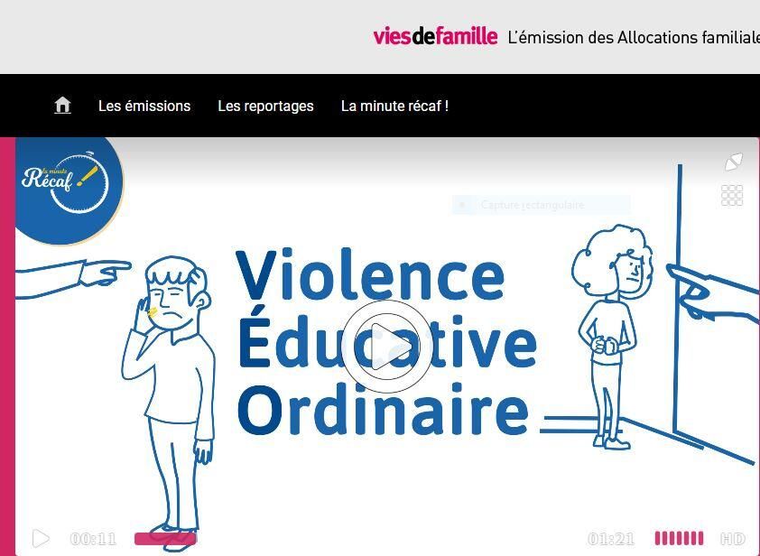la violence educative ordinaire, gifle, fessée