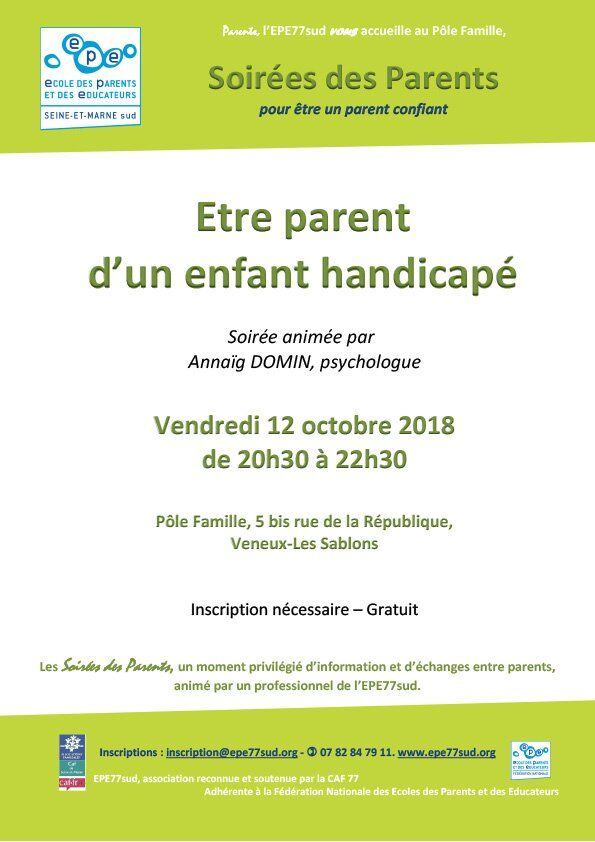 etre-parent-d-un-enfant-handicape-12oct2018-soiree-parents-epe77sud