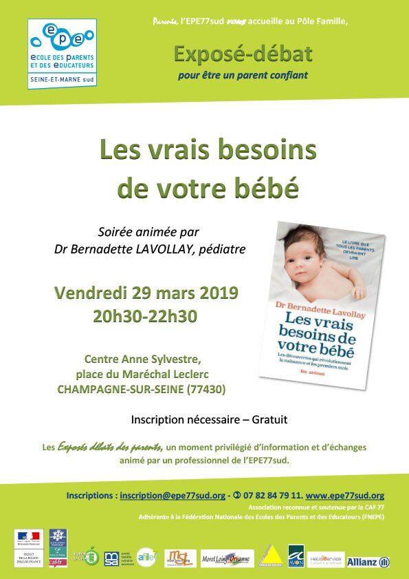 20190329_les_vrais_besoins_de_votre_bebe_expose_debat_parents_epe77sud2
