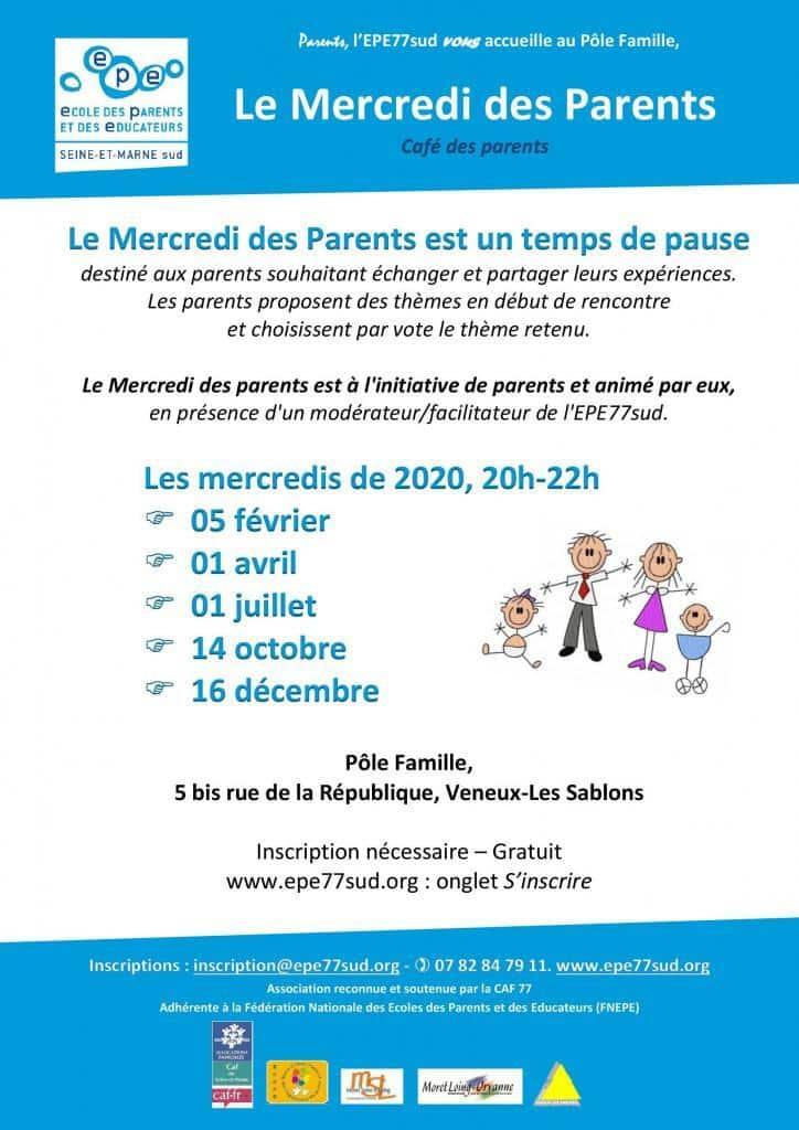 mercredi des parents, EPE77sud
